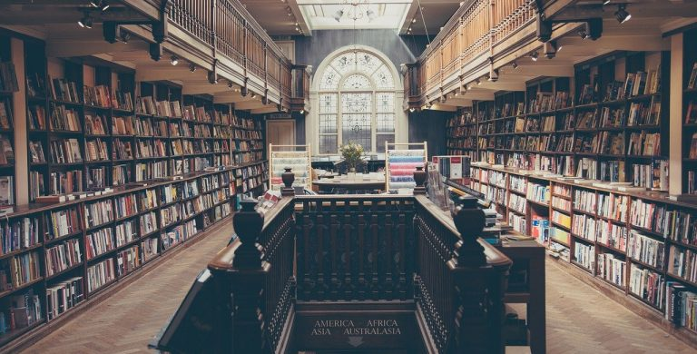 library, books, education